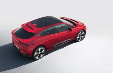 2019 JAGUAR I-PACE_Overhead_Right